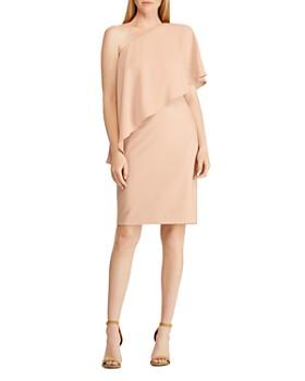 Ralph Lauren - One-Shoulder Dress