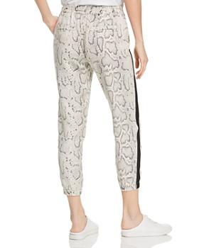 PAM & GELA - Python-Print Cropped Pants