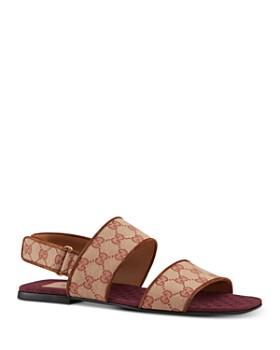 Gucci - Men's GG Canvas Sandals