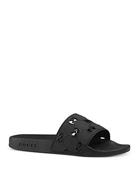 Gucci - Men's Rubber GG Slide Sandals