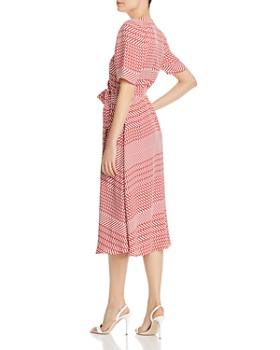 Joie - Cata Striped Wrap Midi Dress