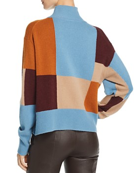 Equipment - Voulaise Color-Blocked Sweater