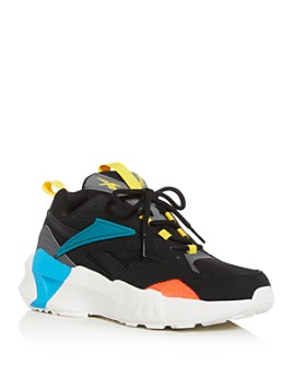 Reebok - Women's Aztrek Double Mix Pops Low-Top Sneakers