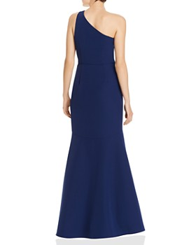 Aidan by Aidan Mattox - One-Shoulder Draped Gown