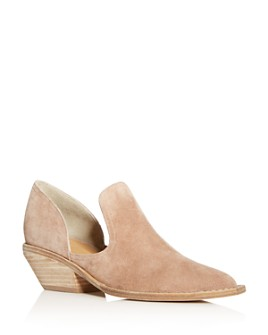 Sigerson Morrison - Women's Tabatha Cutout Pointed-Toe Booties