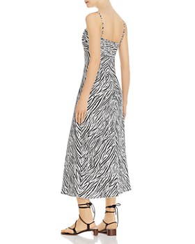 Enza Costa - Zebra-Printed Linen Dress