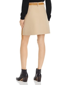 Helmut Lang - Wool & Cashmere Wrap Skirt