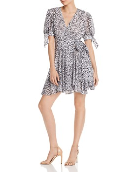 C/MEO Collective - Apparent Leopard-Print Wrap Dress