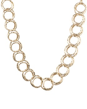 Alexis Bittar - Coil Link Necklace, 16""