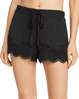 Josie - Washed Satin Sleep Shorts