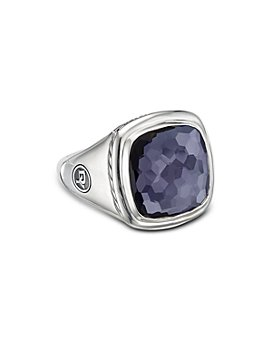 David Yurman - Sterling Silver Albion Black Orchid Ring