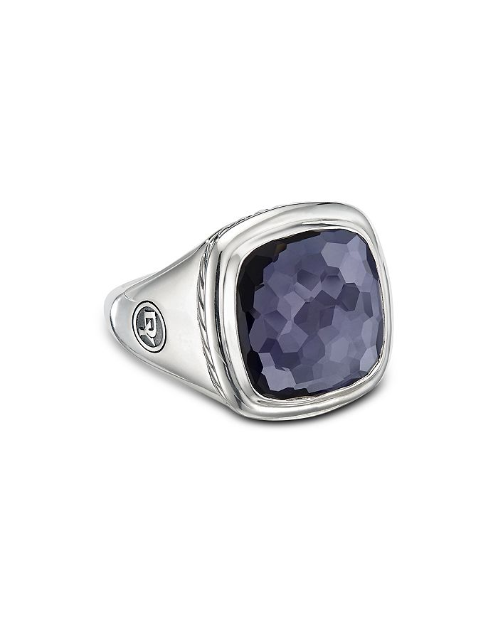 David Yurman - Sterling Silver Albion Ring with Gemstones