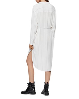 ALLSAINTS - Hana Striped Shirt Dress