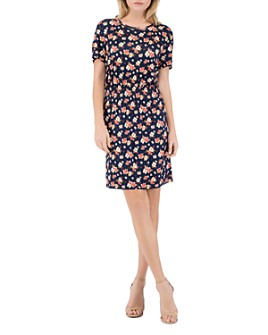 B Collection by Bobeau - Celeste Smocked-Waist Tee Dress