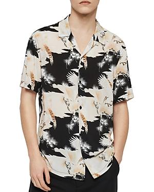 Allsaints T-shirts TALON SLIM FIT SHORT-SLEEVE SHIRT