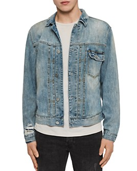 ALLSAINTS - Isidro Distressed Denim Jacket