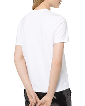 MICHAEL Michael Kors - Velvet Logo Cotton Tee