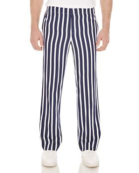 Sandro - Newalpha Stripe Regular Fit Pants