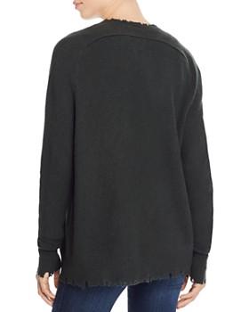 AQUA - Distressed Cashmere Cardigan - 100% Exclusive