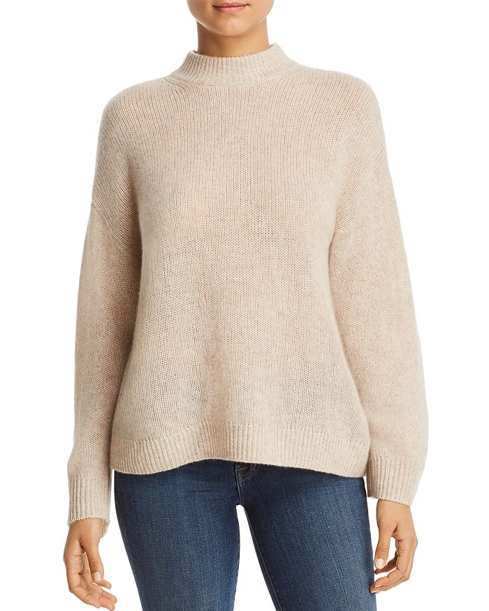 C by Bloomingdale's - Mock-Neck Cashmere Sweater - 100% Exclusive