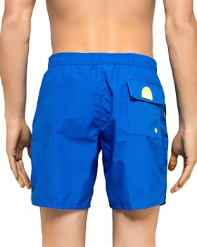 SUNDEK - Stripe-Trimmed Swim Shorts