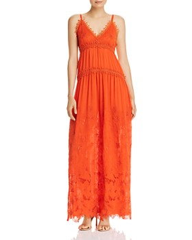 Ramy Brook - Genine Floral Embroidered Maxi Dress