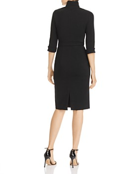Black Halo - Madeline Belted Sheath Dress