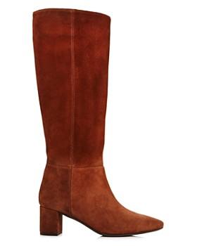 Aquatalia - Women's Karen Weatherproof Embossed Leather Tall Boots