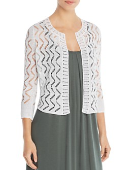 NIC and ZOE - Sheer Bliss Open-Knit Cardigan