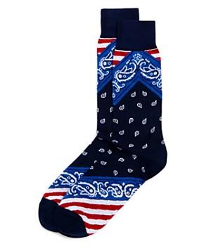 The Men's Store at Bloomingdale's - Bandana Socks - 100% Exclusive