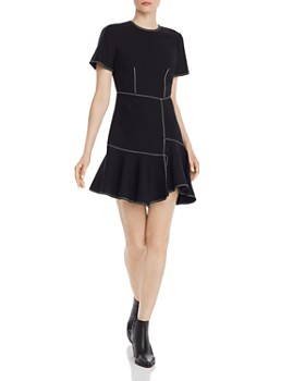 Cinq à Sept - Azure Asymmetric Dress