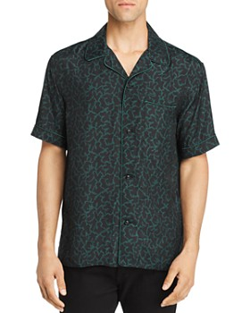 COACH - Printed Regular Fit Pajama Shirt