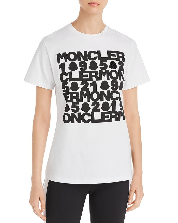 Moncler - Embellished Logo Tee