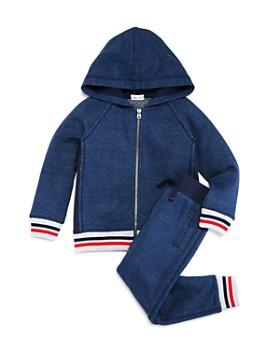 Splendid - Boys' Novelty Striped Hoodie & Jogger Pants - Little Kid