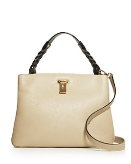Bally - Bally Lucyle Small Pebbled Leather Shoulder Bag