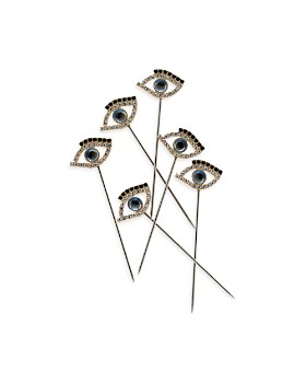 Joanna Buchanan - Evil Eye Cocktail Picks, Set of 6
