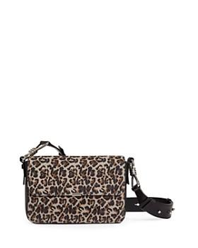 ALLSAINTS - Lepi Medium Leopard-Print Suede & Leather Crossbody