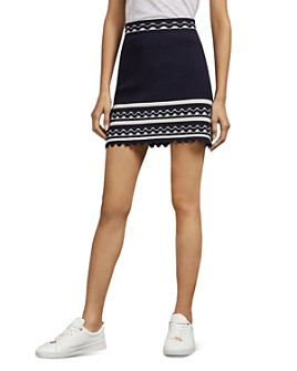 Ted Baker - Isibel Scalloped Mini Skirt