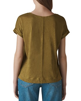 Whistles - Relaxed Linen Tee