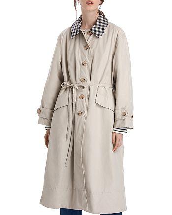 Barbour - by ALEXACHUNG Glenda Casual Long Jacket