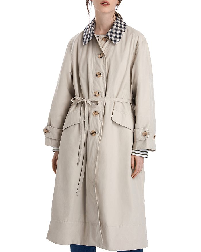 Barbour - by ALEXACHUNG Glenda Casual Long Jacket