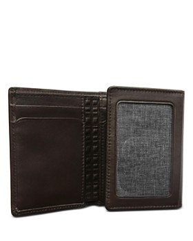 BOCONI - Grant Leather Trifold Wallet