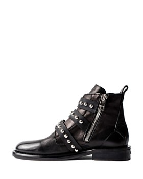 Zadig & Voltaire - Women's Laureen Buckled Ankle Boots
