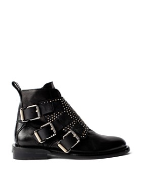 Zadig & Voltaire - Women's Laureen Studded Leather Ankle Boots