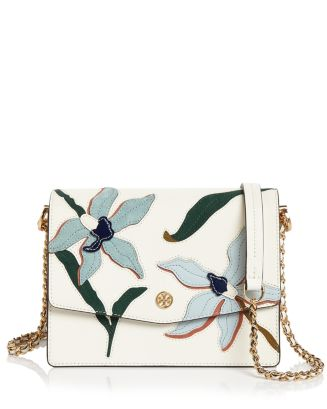 Robinson Appliqué Convertible Shoulder Bag by Tory Burch
