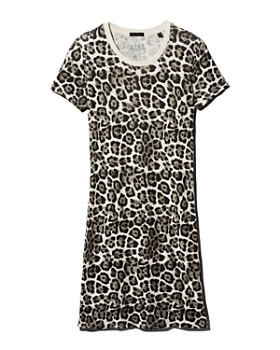 ATM Anthony Thomas Melillo - Leopard-Print T-Shirt Dress