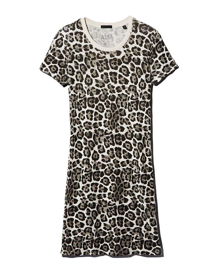 ATM Anthony Thomas Melillo - Leopard-Print T-Shirt Dress