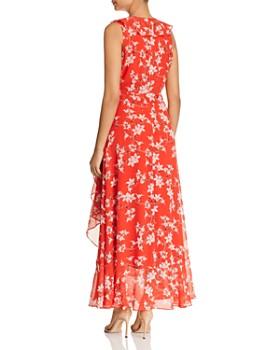 Calvin Klein - Ruffled Wrap Maxi Dress