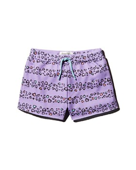 Sovereign Code - Girls' French Terry Cheetah Shorts - Little Kid
