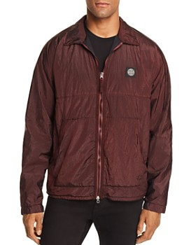 Stone Island - Metallic Nylon Shirt Jacket